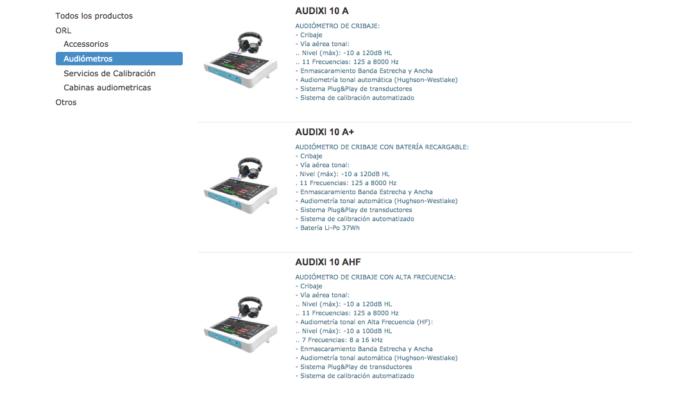 Catálogo productos de Kiversal