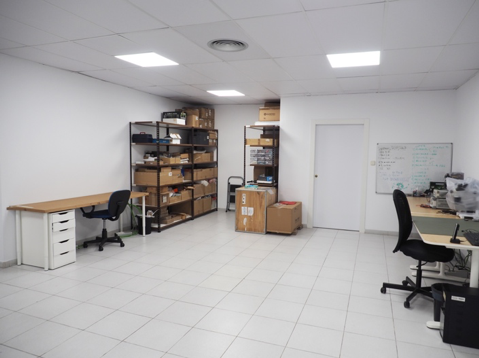 The move to these new premises has allowed us to gain space, natural light and new office partners: DyCare, innovators in the rehabilitation sector who design wearable solutions for the clinical assessment of movement disorders and our neighbours at the Barcelona Activa offices, have moved with us.