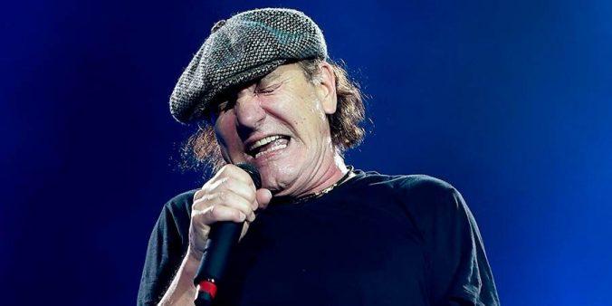 Brian Johnson cantante AC DC