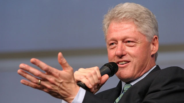 Expresidente Bill Clinton