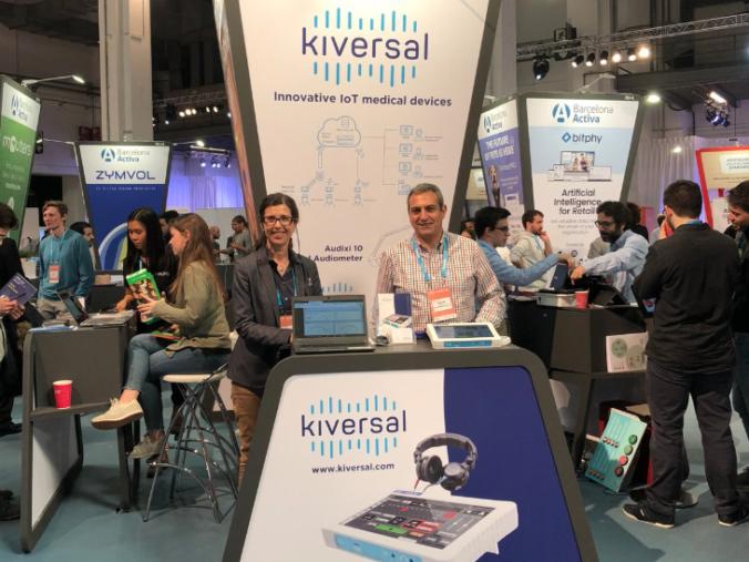 Kiversal en Feria MEDICA 2019