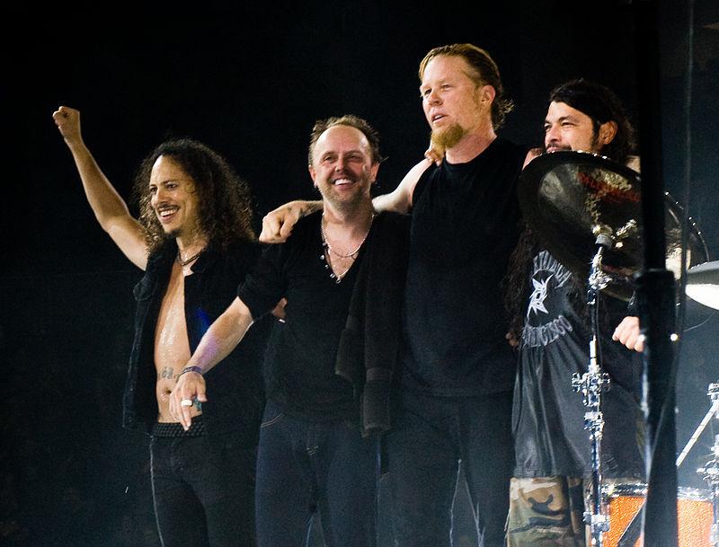 James Hetfield y Lars Ulrich sufren tinnitus