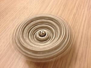 espiral girando - sensación de vértigo