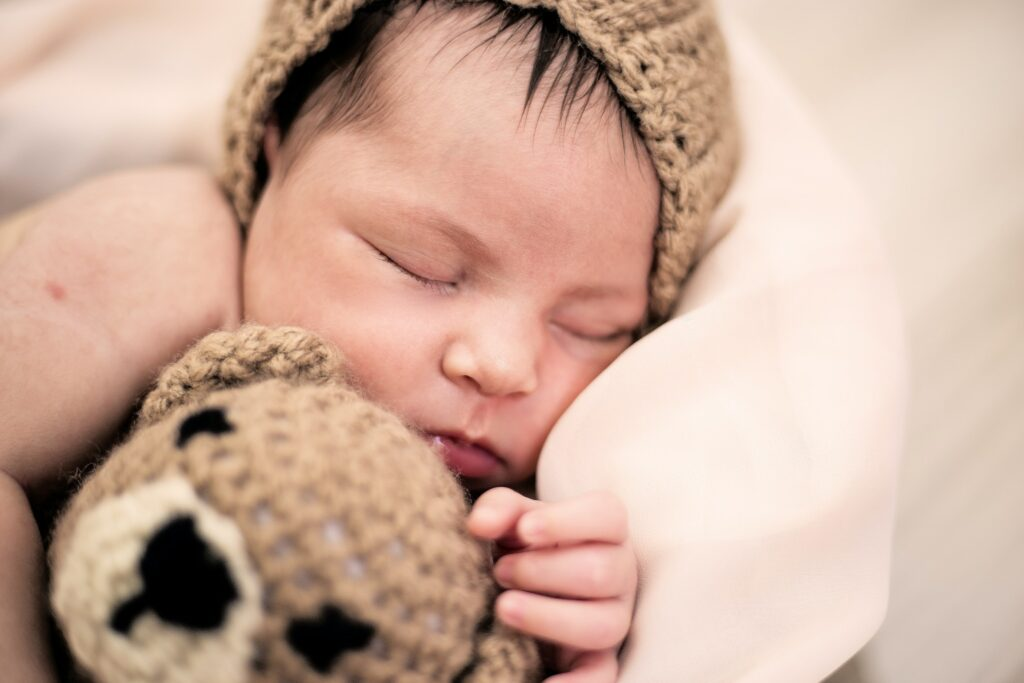 Sleeping baby - white noise
