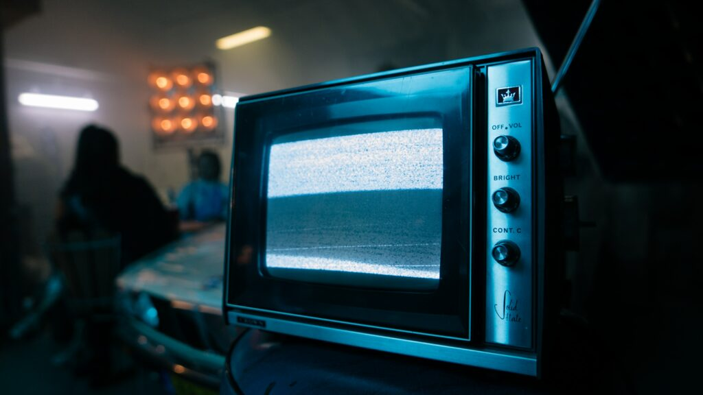 TV tuning - white noise